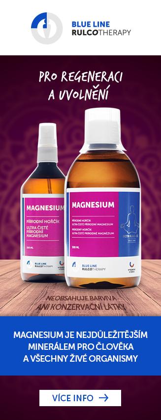 Magnesium není pouze o křečích