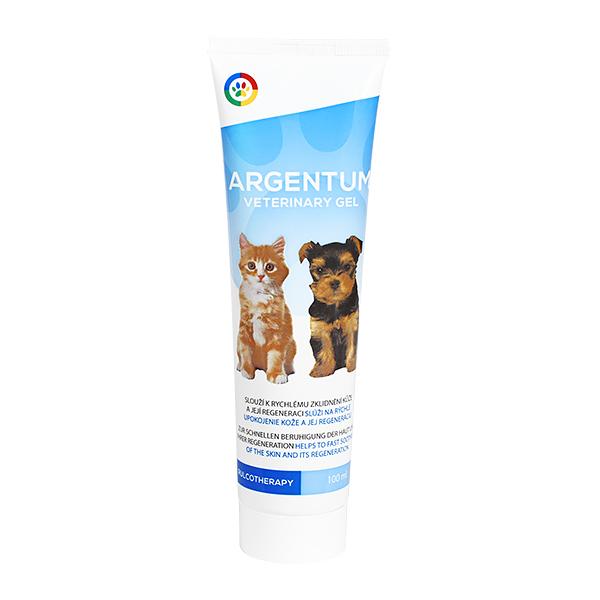 Argentum veterinary gel