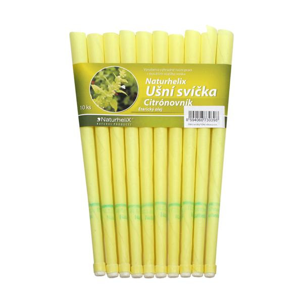 Ušní svíčky s citrónovníkem